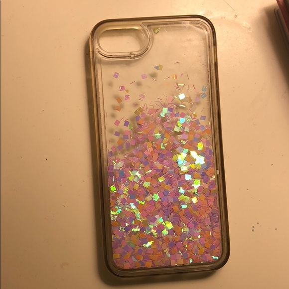 newest 2a292 4c5a8 Liquid glitter phone case for IPhone 6s